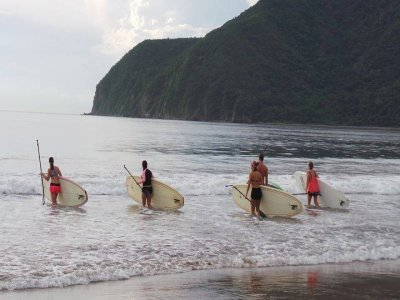 SUP board journey, Juluapan Lagoon
