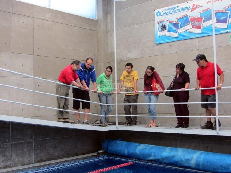 Tour around the facilities