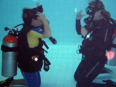 First Scuba Diving Experience in D.F.