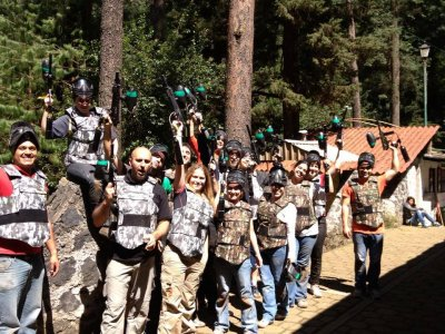 500 balls paintball game in Santa Fe