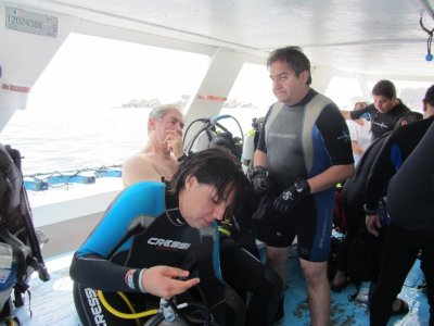 Diving trip. Acapulco Guerrero.