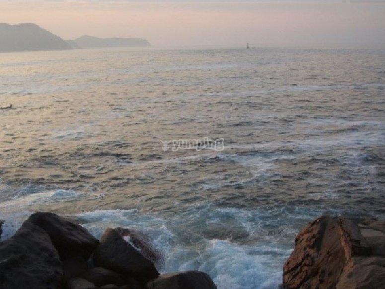The sea of Acapulco