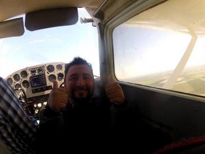Light aircraft flight 30 min in Monterrey