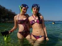 sun beach and snorkeling