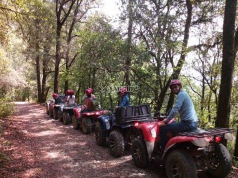 rutas guiadas en cuatrimoto san joaquin