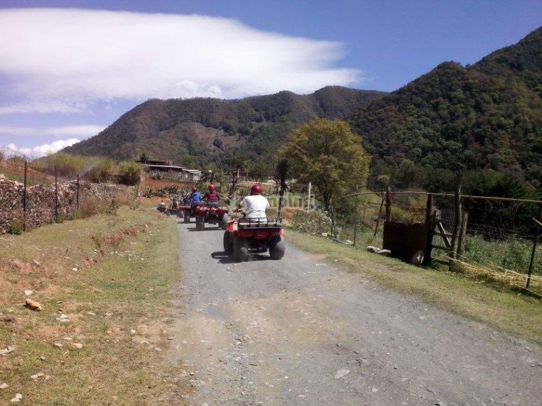 rutas en cuatrimoto Mexico
