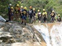 Canyoning and jumps