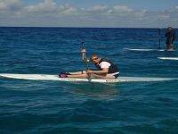 Quiet Caribbean waters