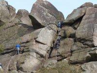 Climbing on team