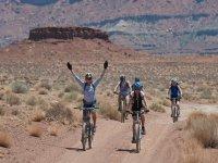 Enjoy family cycling