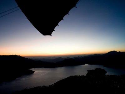 Ultralight aircraft flight, Valle de Bravo