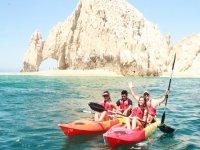 Crystal kayaks in Los Cabos