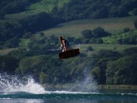 Saltando en tabla de Wakeboard Nayarit