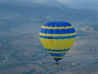 Discover Huasca from the hot air balloon