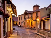 Walk the streets of Huasca