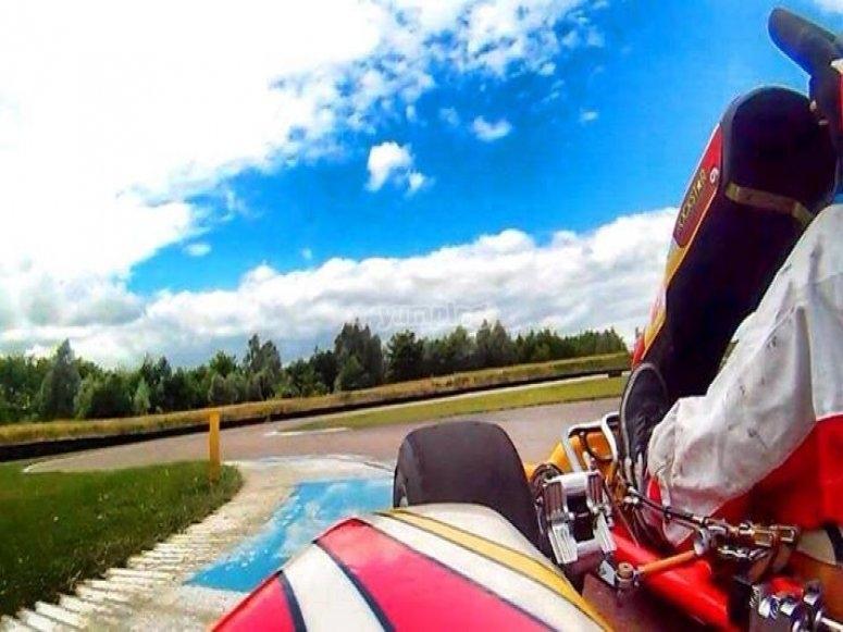 Get behing the wheel of a go-kart!