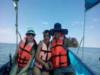 Heading to Isla Espiritu Santo