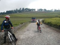 4h cycling tour along the Xitle volcano