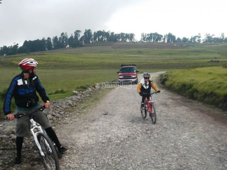 Getaway by bike