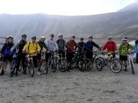 7 hour cycling in Nevado Toluca