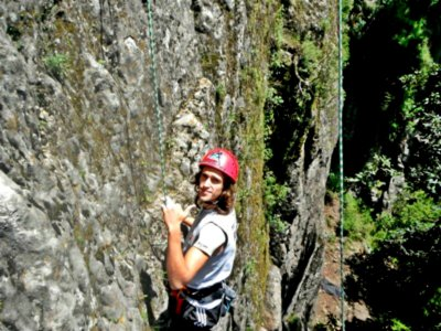 Rock climbing in Los Dinamos National Park + lunch