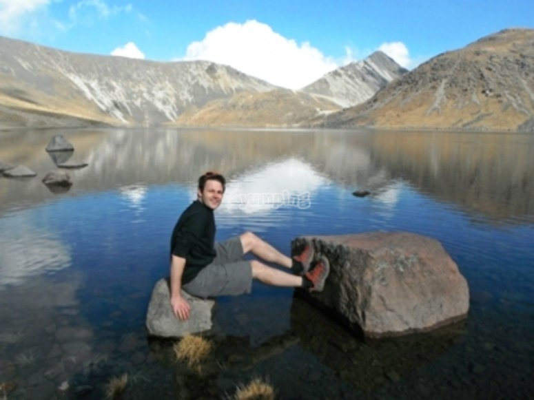 Lagoons of the Nevado de Toluca