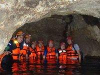2 days underground river in Chontalcoatlan