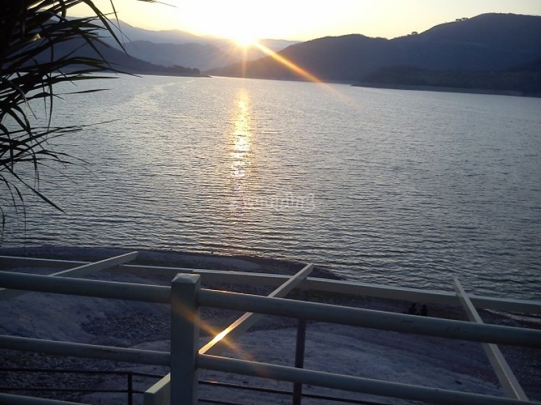 The dam of Ejutla