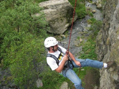 Rappel excursion in 3 Penas until noon