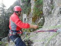 Rope descent, Rappel