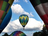 Make your event from an aerostatic balloon