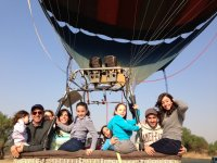 Bring your family to Huasca and capture the moment in the balloon