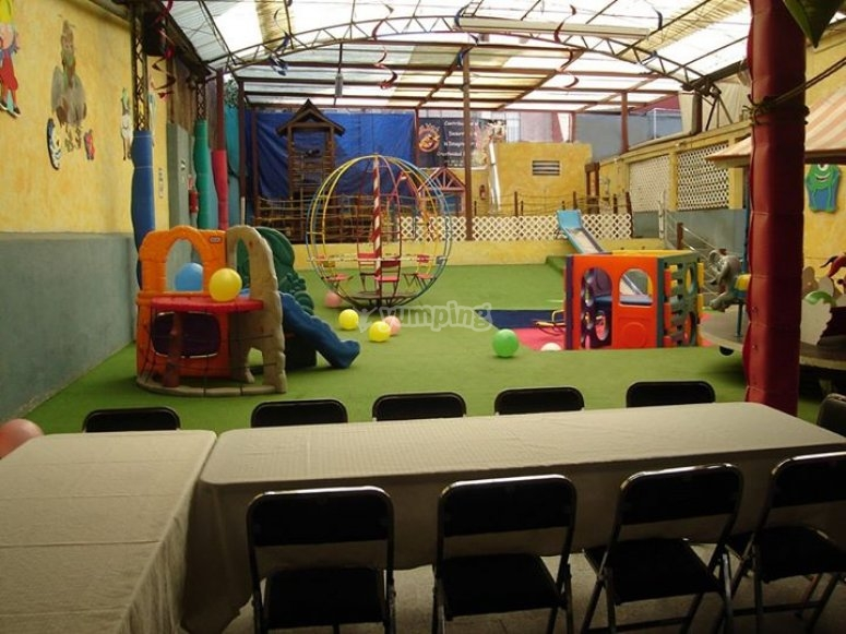 children's party room