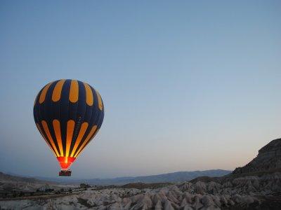 Paquete de vuelo en globo cumpleañero Ometusco