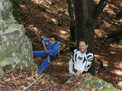 Excursión de Rappel y Escalada en Los Picachos