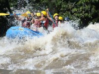 Pure adrenaline in the river
