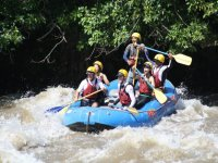 Rapids and rafting