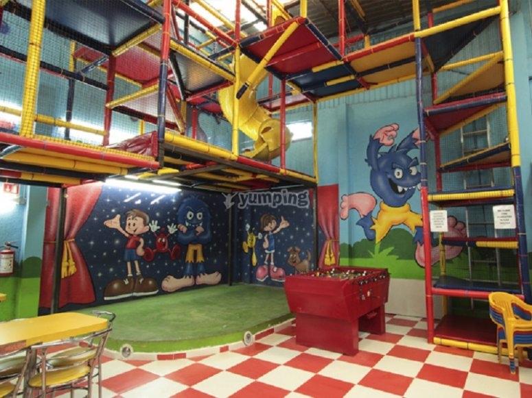 area de shows infantil