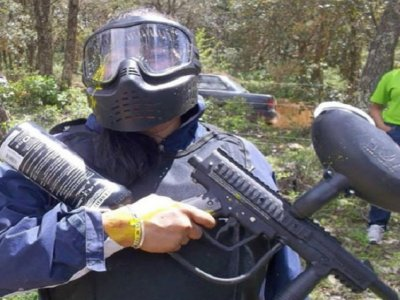 Paintball with 500 paint capsules, Guanajuato