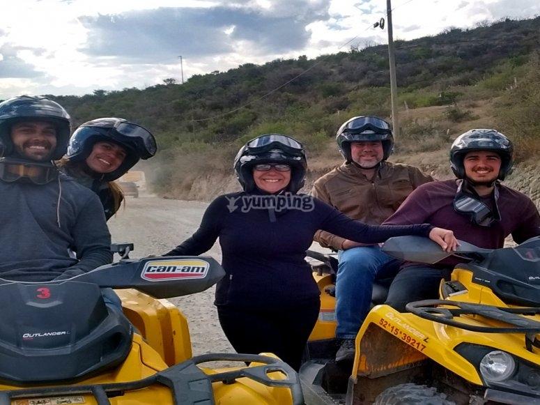 Experiencia en cuatri motos con tus amigos