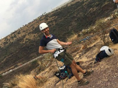 Curso de Escalada y Rappel en la cañada Querétaro