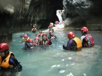 canyoning in chipinque
