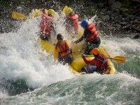 Rafting 2 días 2 descensos en Jalcomulco