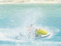speed on a jet ski