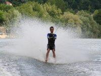 Have fun skiing