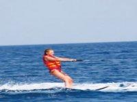 Ski in the water