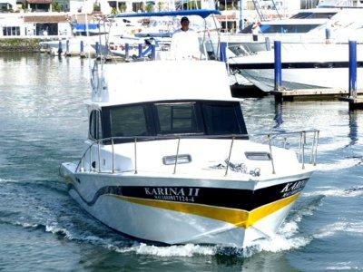 Pesca en barco de lujo en Puerto Vallarta 3 horas