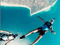 Skydiving with adventure