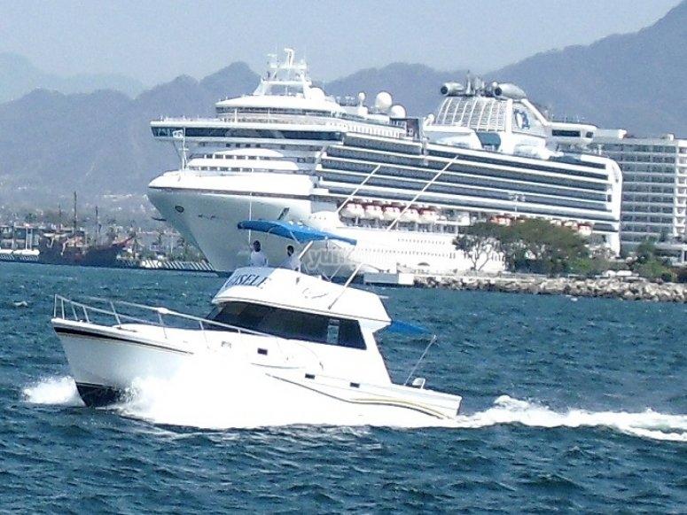 Barcos en Vallarta