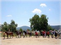 Horseback riding in Chamula